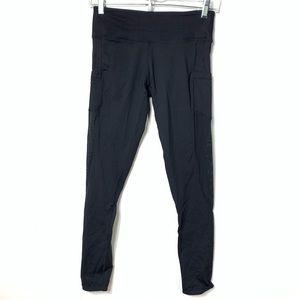 lululemon athletica Pants - Lululemon leggings black full length mesh pocket 8